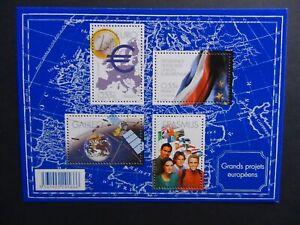Feuillet timbres France Neuf sans charnière N°123 Projets européens