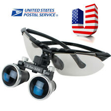 Dental Lab Surgical Medical Binocular Loupes 3.5X 320mm Optical Glass Loupe FDA