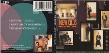 New Kids On The Block - Let's Try It Again (3 Inch) (3 Track Maxi CD)