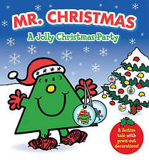 Mr. Christmas: A Jolly Christmas Party (Mr Men), Hargreaves, Roger, Very Good Bo