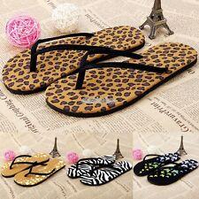 Women Lady Summer Flat Sandals Bohemia Slippers Flip Flops Beach Thong Shoes