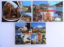 3x ratti MONTAGNA TIROLO AUSTRIA cartoline lot ungelaufen inutilizzato color AK 's