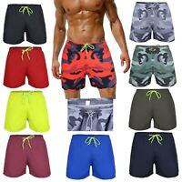 MENS RVX LEISURE SWIM SWIMMING WATER SPORTS SHORTS NEW NAVY / BLUE / RED / BLACK