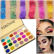 USA Pro 24 Colors Shimmer Eyeshadow Palette Glitter Eye Shadow Powder Makeup