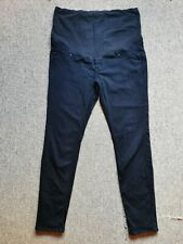 H&M Mama Maternity Jeans Black - Over Bump - Size UK 18