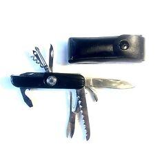 Couteau Multifonctions 11 Fonctions Randonnée Avec Étui De Ceinture