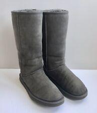 UGG Australia Classic Tall II Womens Winter Boots - Size 9, Grey