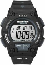 "Timex T5K196, Men's ""Ironman Triathlon"" 30-Lap Resin Watch, Shock, Indiglo,Alarm"