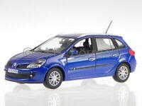 Renault Clio Estate estate 2007 blue diecast model car 517580 Norev 1/43