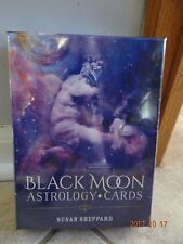 BLACK MOON ASTROLOGY TAROT CARDS DECK BOOK WISDOM ORACLE CAT SELF-HELP ResQ