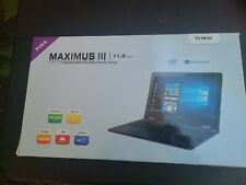 Maximis 3 convertible touchscreen laptop  Windows 10  quad core processor