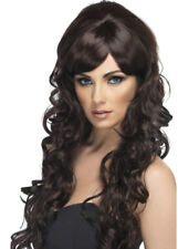 Cheryl Cole Style Long Brown Pop Starlet Wig