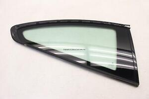 BMW 435i F32 COUPE 14-16 RIGHT QUARTER WINDOW GLASS MATTE BLACK W/O PRIVACY OEM