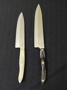 Vintage Cutco No. 1725 & 1728 (chipped end)