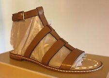 f3dc33a57d228 Michael Kors Sandals 6.5 Women s Fallon Orange Flat Ankle Strap New