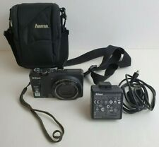 Nikon COOLPIX S9100 12.1MP Digital Camera - Black with Charger & Hama Soft Case