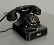 Lorenz W48 Bakelit Telefon Wählscheibentelefon revidiert Spiegelglanz Bj. 3.61