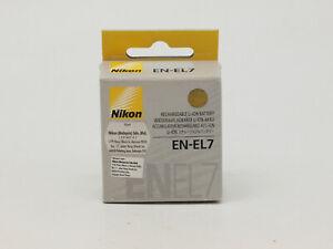 Nikon EN-EL7 Lithium-Ion Battery (7.4v 1100mAh) for Coolpix 8400 & 8800 Digital