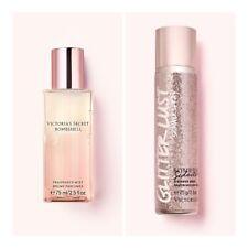 Victoria's Secret BOMBSHELL SEDUCTION Fragrance Mist+Glitter Lust Shimmer Spray