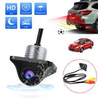 170° Reverse Backup Car Front Rear View Camera Night Vision Parking CCD HD 12V