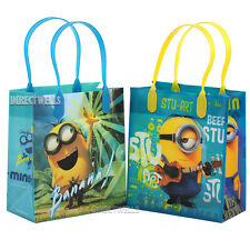Despicable Me Minions Licensed Reusable Small Party Favor Goodie 12 Bags