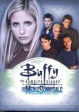 Inkworks Buffy TVS Men Of Sunnydale Complete 81 Card Base Set