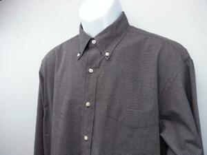 BROOKS BROTHERS Long Sleeve Button Front Dress Casual Shirt Green Men's L
