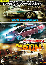 Need for Speed Most Wanted,Carbon & Run [Triple Pack] PC Game