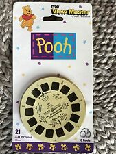 FAB GIFT- VIEW-MASTER CARDED PACKET SET 3-D PICTURES, WINNIE THE POOH-TYCO-DISC
