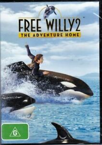 Free Willy 2: The Adventure Home (DVD) Region 4 - New and Sealed