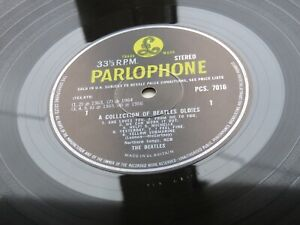 BEATLES 1966 UK LP A COLLECTION OF OLDIES BUT GOLDIES  STEREO  EX