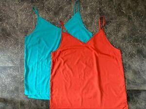 Wholesale Job lot 20 X Womens Top Brand Sleeveless Camisole Vest Top - 2 Colours