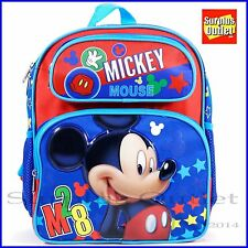 Disney Mickey Mouse 12' School Backpack Book Bag