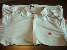 Adidas Golf Mens Full Zip Tricot Sport Jacket Chrome gray XL casual zipper coat