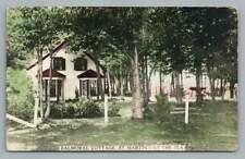 Balmoral Cottage ST. MARTIN'S BY THE SEA New Brunswick RPPC Antique Photo 1920s