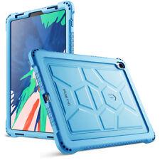 Para Apple iPad Pro 11 Poetic Turtleskin resistente Protección funda azul