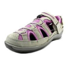 Sandalias con tiras de mujer de color principal gris de ante