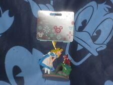 Disney Alice in Wonderland & Dinah the Cat Sketchbook Ornament 2020 New