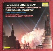 TELARC DG 10072 TCHAIKOVSKY MARCHE SLAV RUSSIAN ORCHESTRAL FAVS BEAUTIFUL COPY