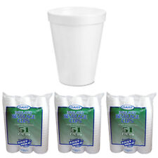 153 Styrofoam 6.4 oz Disposable Coffee Cups Hot Cold Drinking Beverage Insulated