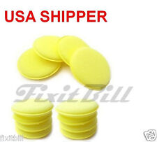 12 - Waxing Polish Foam Sponge Car Wax Pad Applicator Cleaning & Detailing Pads