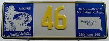 Nummernschild Australien N.P.C.C Treffensschild South Dakota 1990. 10261