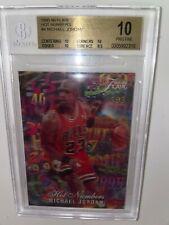 1995 Flair Hot Numbers Michael Jordan #4 BGS 10 PRISTINE - Highest Grade on Ebay