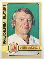 1972-73 John Mckenzie Philadelphia Flyers 338 OPC O-Pee-Chee Hockey Card P894