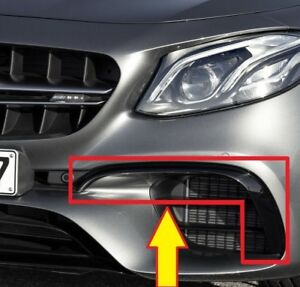 New Genuine Mercedes E W213 S AMG Front Bumper Lower Flap Left A2138859300 OEM