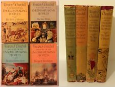 Winston Churchill - History of the English Speaking Peoples - 4 volumes 1950s