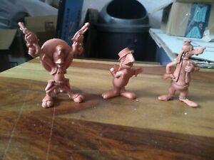 Marx Disneykins Toy cartoon Figures.