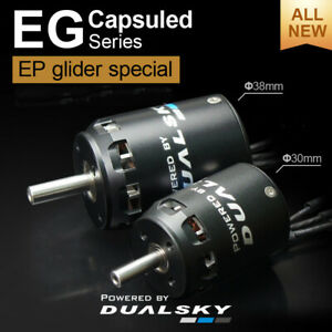 DUALSKY Motors XM3036/40 EG Capsuled Series for Glider Special Model New Version