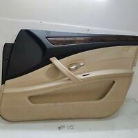 2008-2010 BMW 535i 528i 550i E60 LCI RIGHT FRONT PASSENGER DOOR PANEL OEM