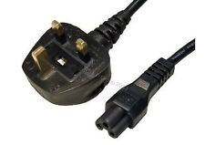 NEW Clover Mains Charger Cable suitable for Dell HP Asus Acer Compaq Sony laptop